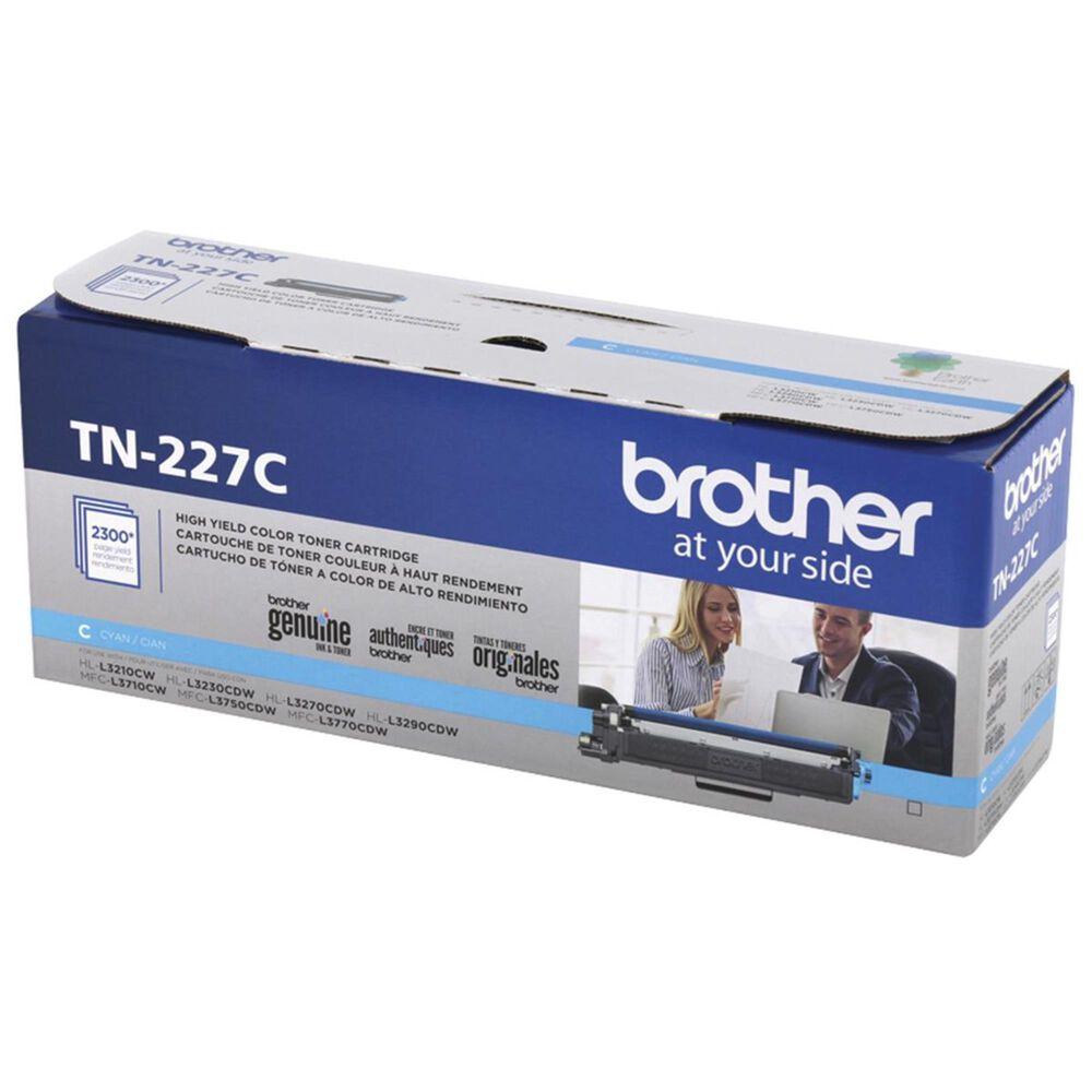Brother TN227C High Yield Toner Cartridge in Cyan, , large