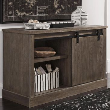 Signature Design by Ashley Luxenford Large Credenza in Grayish Brown, , large