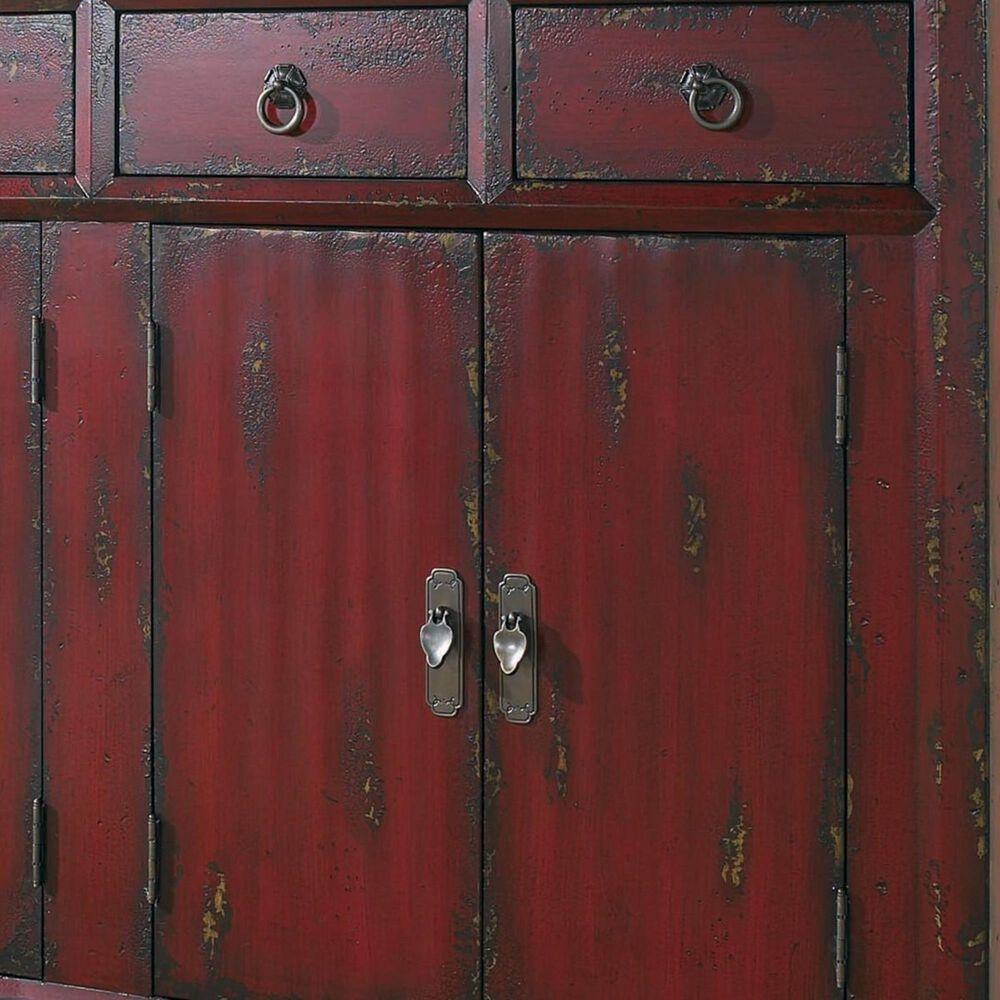 """Hooker Furniture Red Asian 58"""" Living Room Cabinet, , large"""