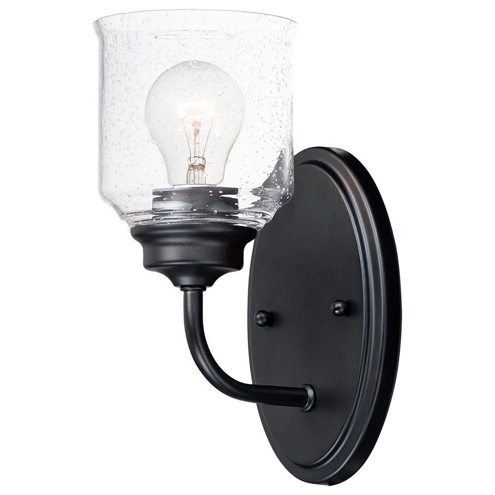 Maxim Lighting Acadia 1-Light Wall Sconce in Black, , large