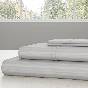 Timberlake Lavish Home 4-Piece Queen Sheet Set in Gray, , large