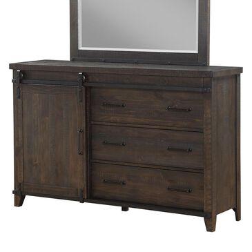 Frankfurt Furniture Montana Dresser in Weathered Pine, , large