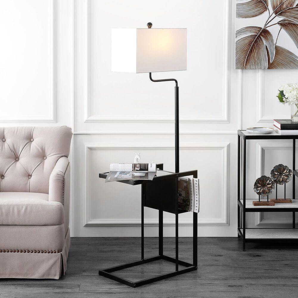 Safavieh Janson Floor Lamp in Black, , large