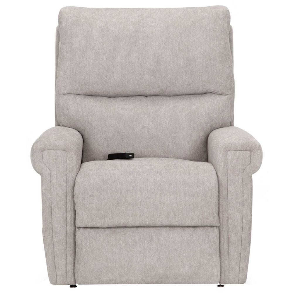 Moore Furniture Apex Lift Chair with Power Headrest, Heat, and Massage in Princeton Platinum, , large