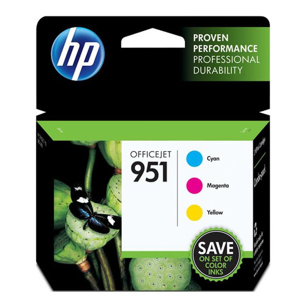 HP 951 Combo Pack Color Officejet Ink Cartridge, , large