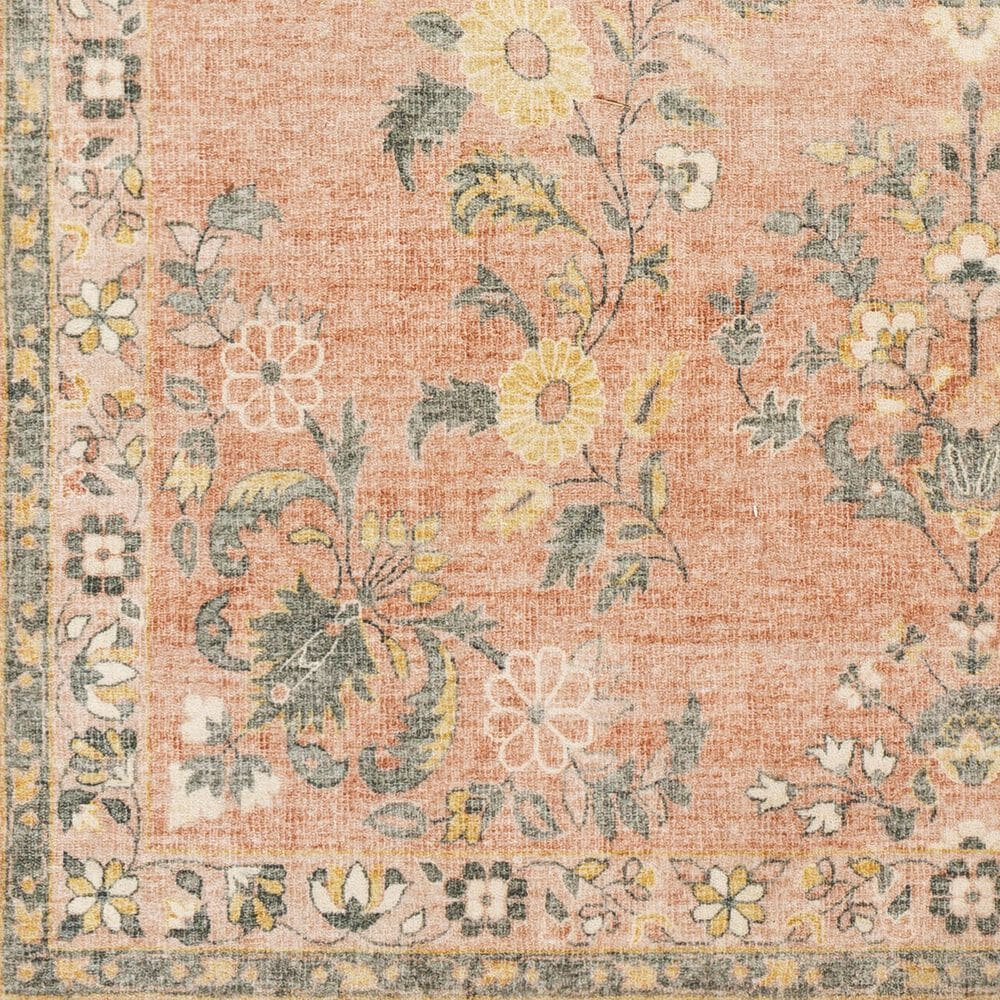 """Surya Erin 2'6"""" x 7'6"""" Cream, Pink, Butter, Sage and Gray Runner, , large"""