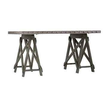 Hooker Furniture Vintage West Accent Desk in Dark Charcoal, , large