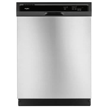 Whirlpool Heavy-Duty Dishwasher with 1-Hour Cycle in Stainless Steel, , large