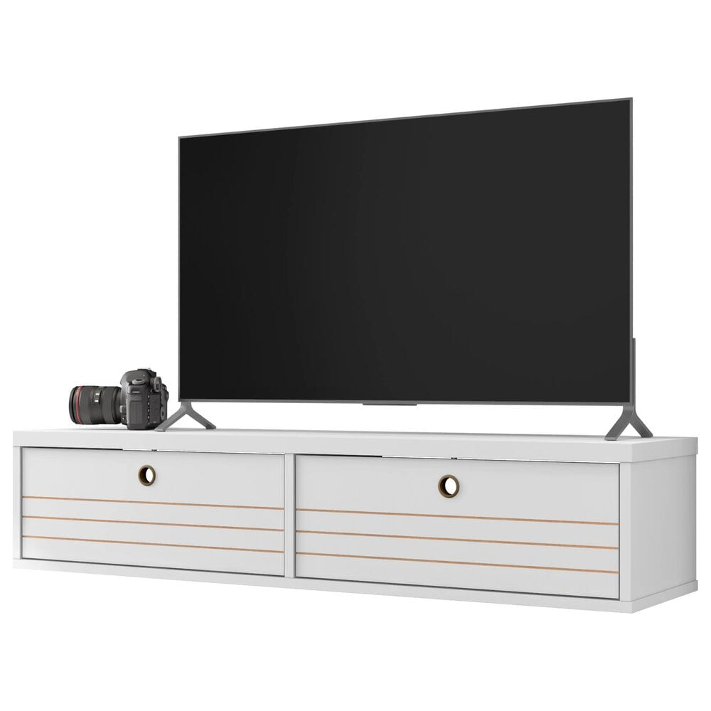 """Manhattan Liberty 42.28"""" Floating Entertainment Center in White, , large"""