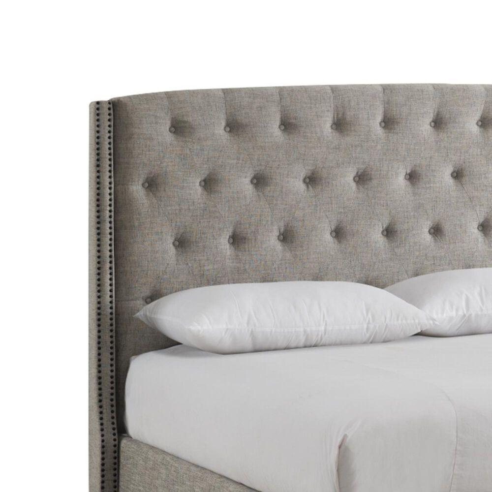 Wayne & Sons Furniture Company Christina King Bed in Sandstone, , large