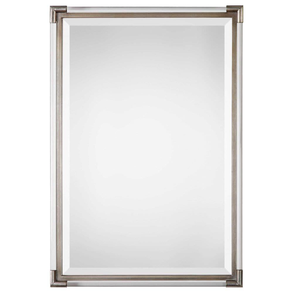 Uttermost Mackai Mirror in Metallic Silver, , large