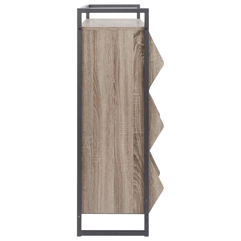 Signature Design by Ashley Maccenet Shoe Rack in Gray, , large