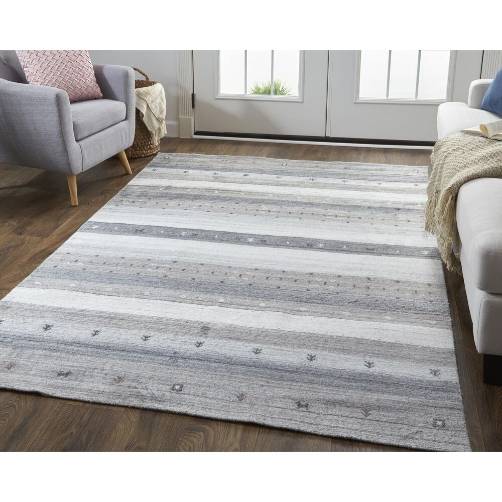 """Feizy Rugs Legacy 8'6"""" x 11'6"""" Charcoal Area Rug, , large"""