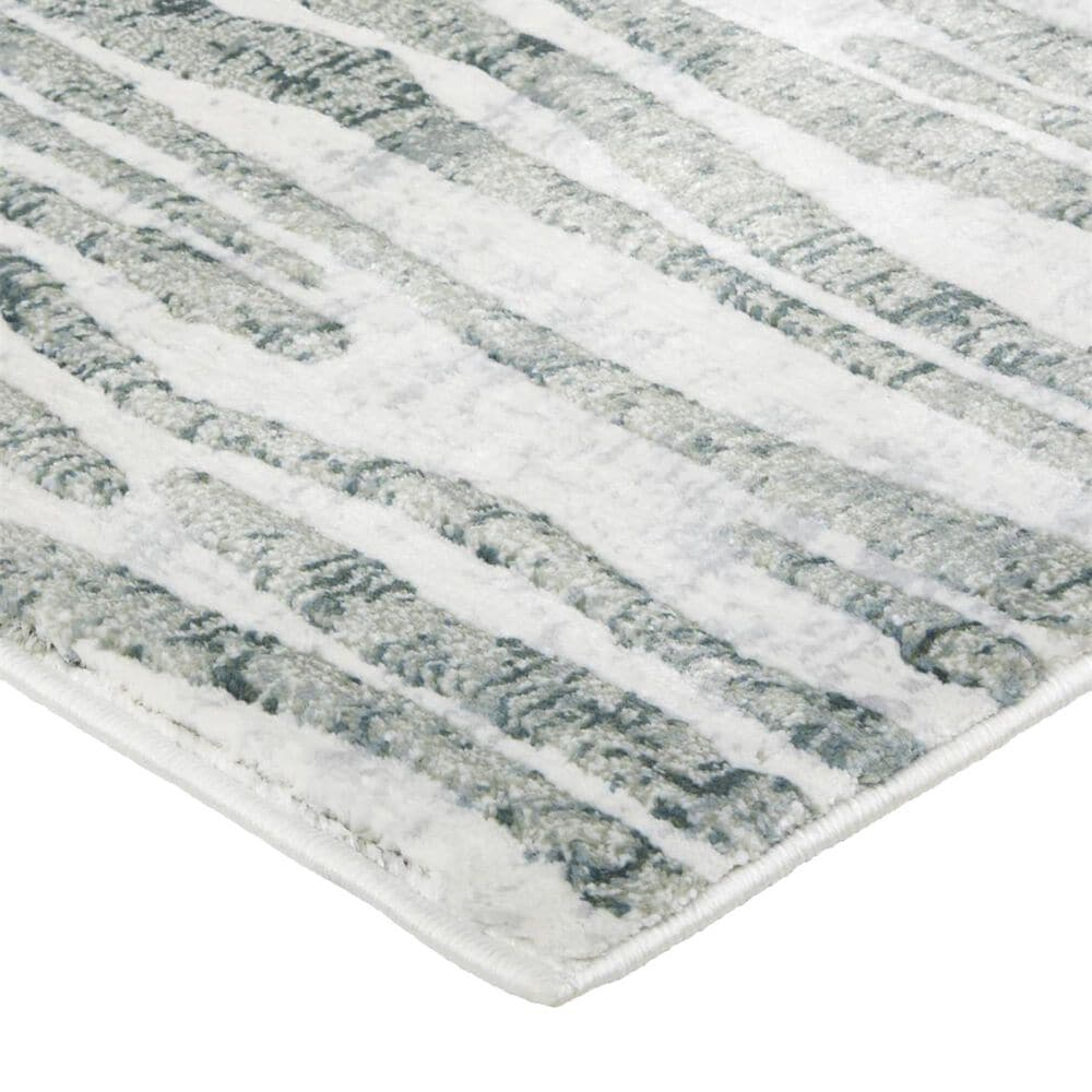 """Feizy Rugs Atwell 3218F 5'3"""" x 7'6"""" Gray Area Rug, , large"""