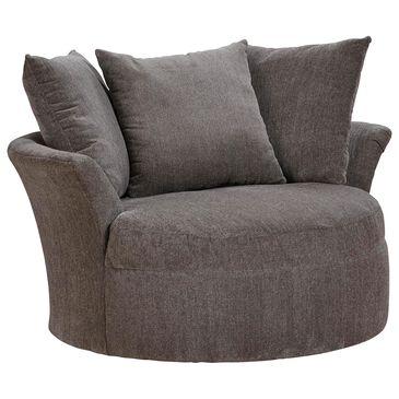 Hartsfield Sax Swivel Chair in Cobblestone, , large