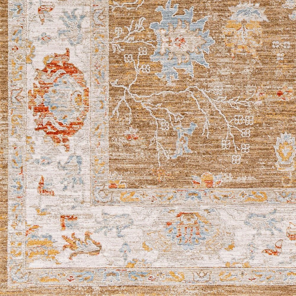 "Surya Avant Garde 2'7"" x 4' Orange, Blue and Beige Area Rug, , large"