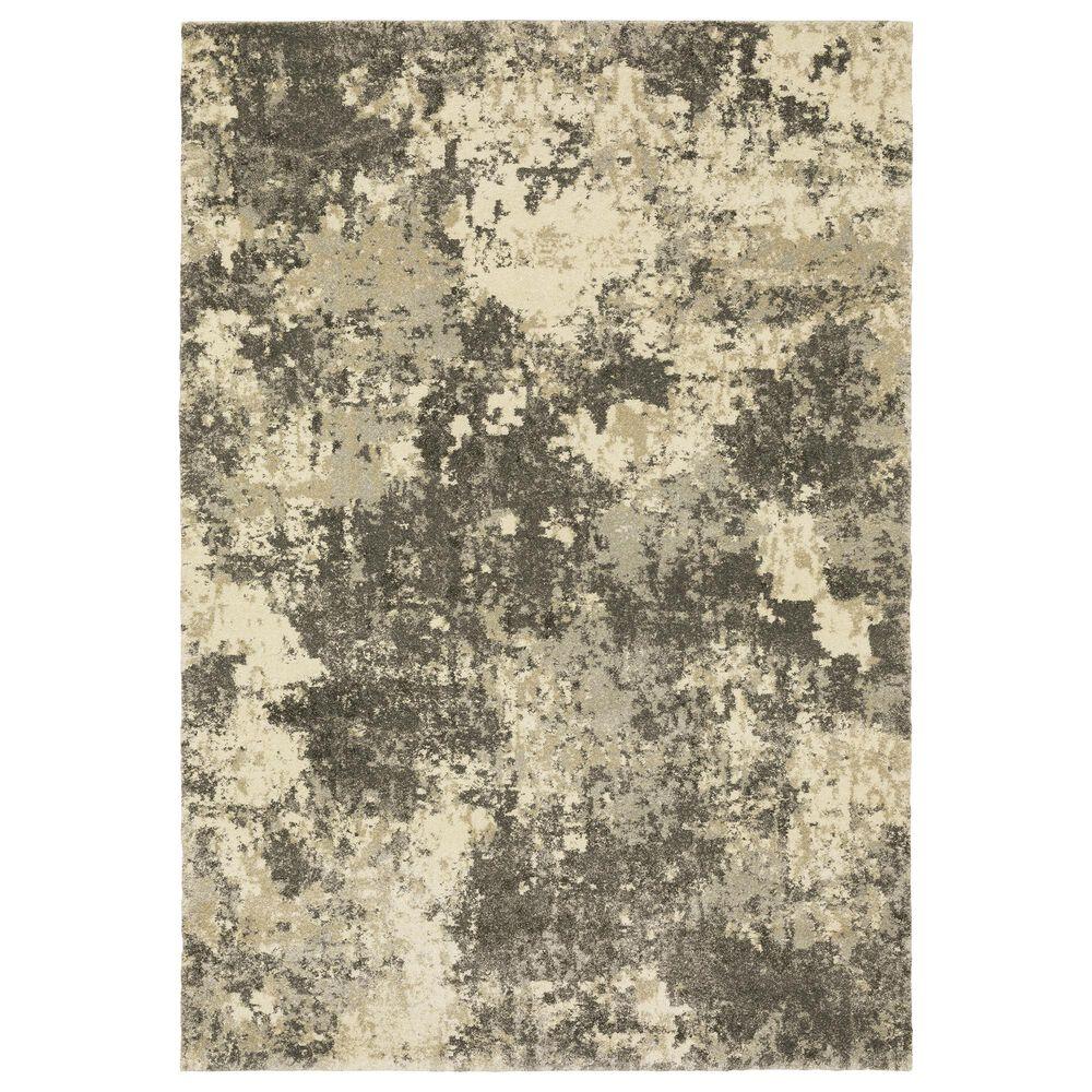 "Oriental Weavers Astor Adonis 7150D 3'10"" x 5'5"" Grey Area Rug, , large"