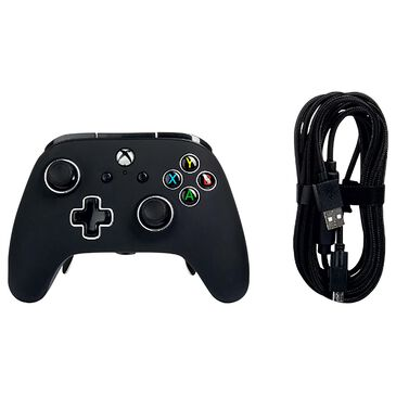 Power A Fusion Pro Wired Controller in Black - Xbox One in Black, , large