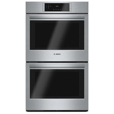 "Bosch 30"" Double Wall Oven in Stainless Steel, , large"