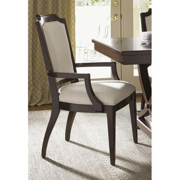 Lexington Furniture Kensington Place Candace Arm Chair in Dark Brown , , large