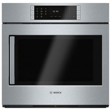 "Bosch 30"" Single Wall Oven with Right Side Opening Door in Stainless Steel, , large"