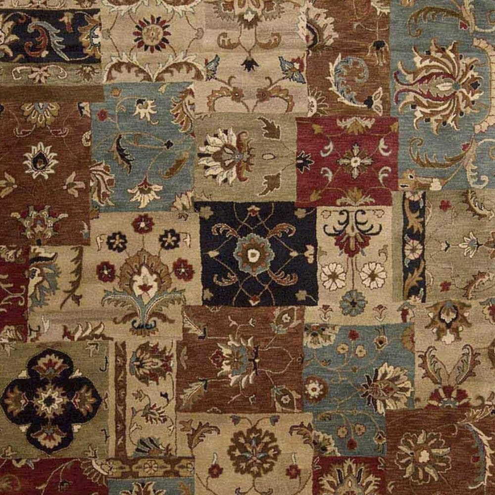 Nourison Jaipur JA37 3'9'' x 5'9'' Multicolor Area Rug, , large