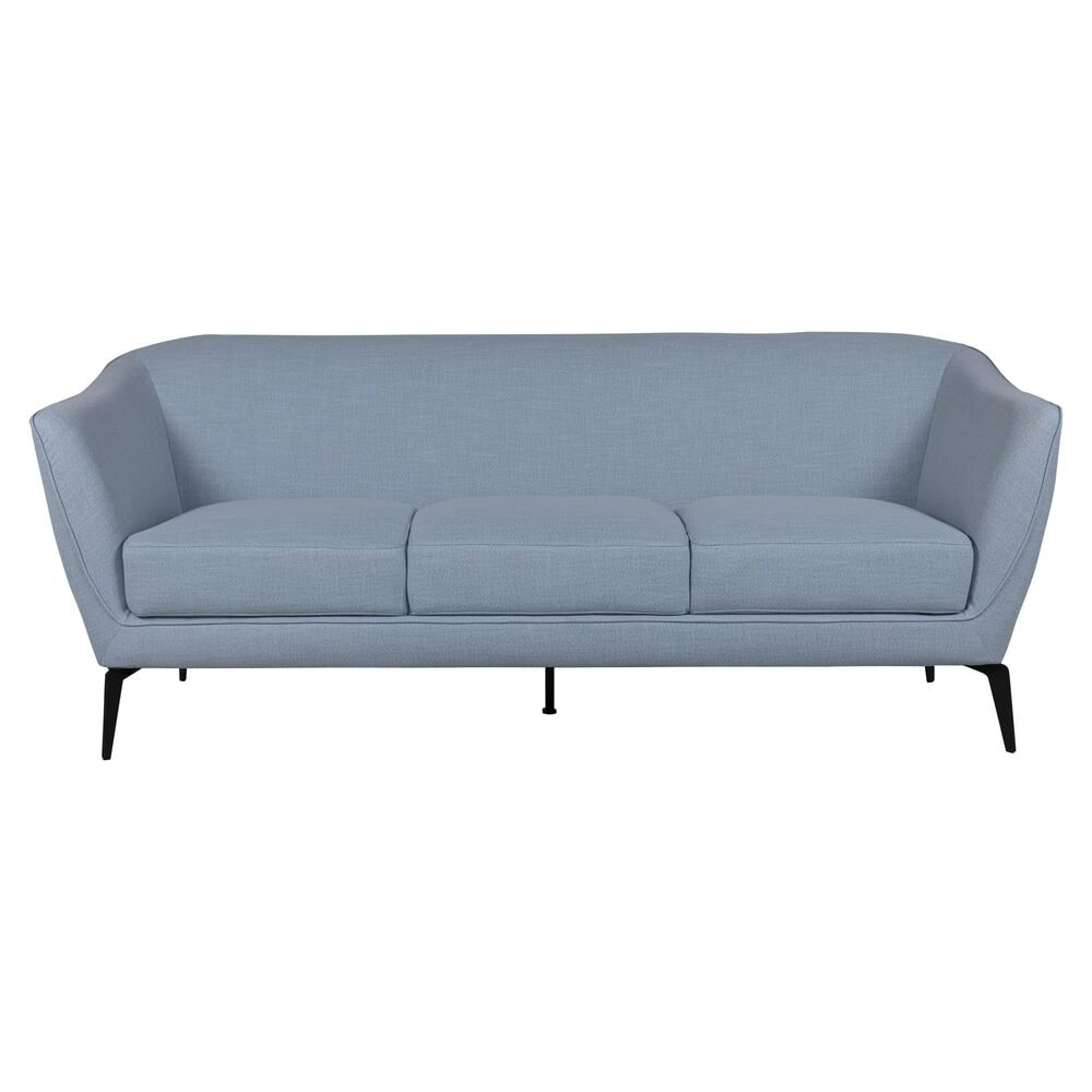 Urban Chic Isabella 3 Seat Sofa in Sky Blue, , large