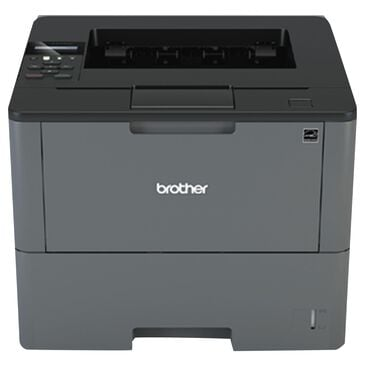 Brother Business Laser Printer with Wireless Networking, Duplex Printing in Black and Gray, , large