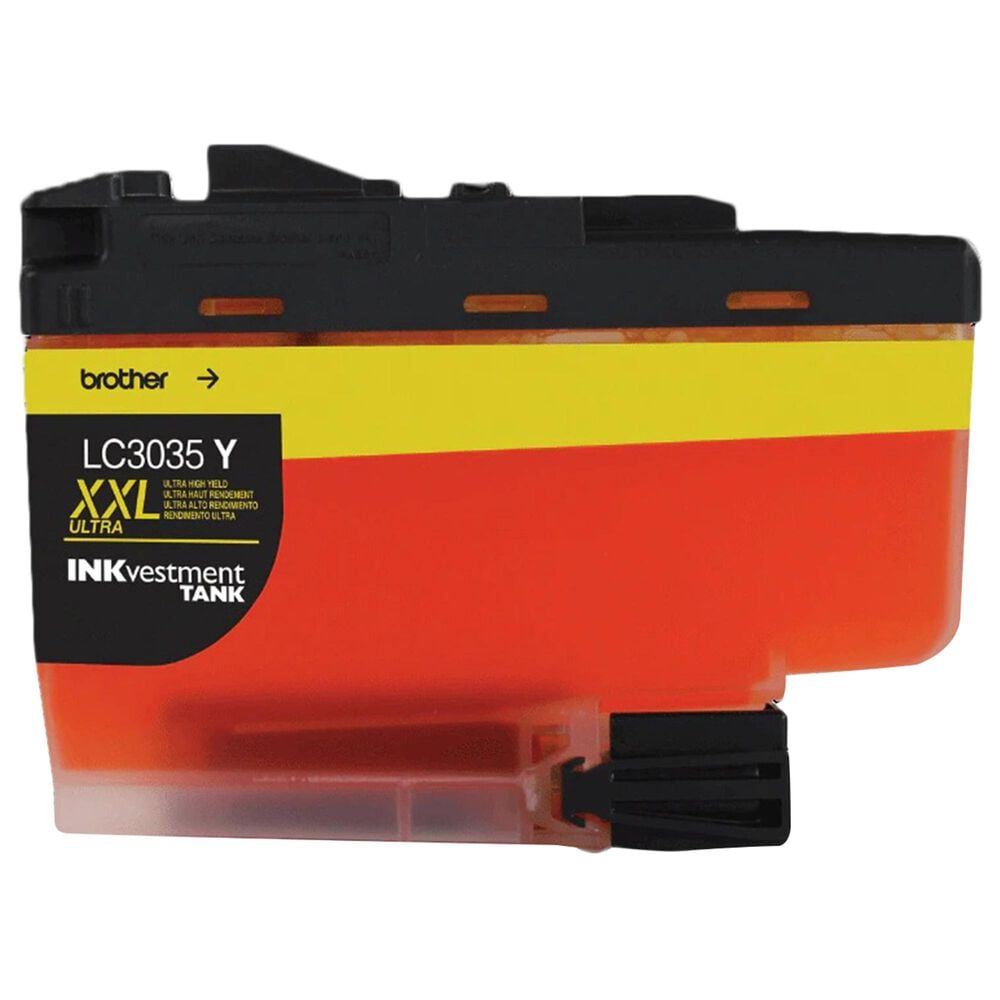 Brother Single Pack Ultra High-Yield Yellow INKvestment Tank Ink Cartridge, , large