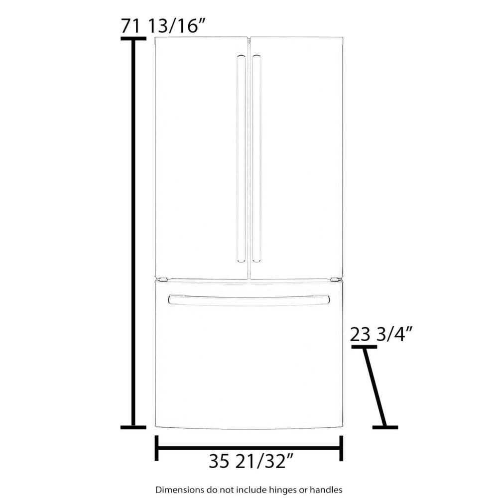 Fisher and Paykel 16.8 Cu. Ft. Integrated Panel Ready Built-In French Door Refrigerator with Ice , , large
