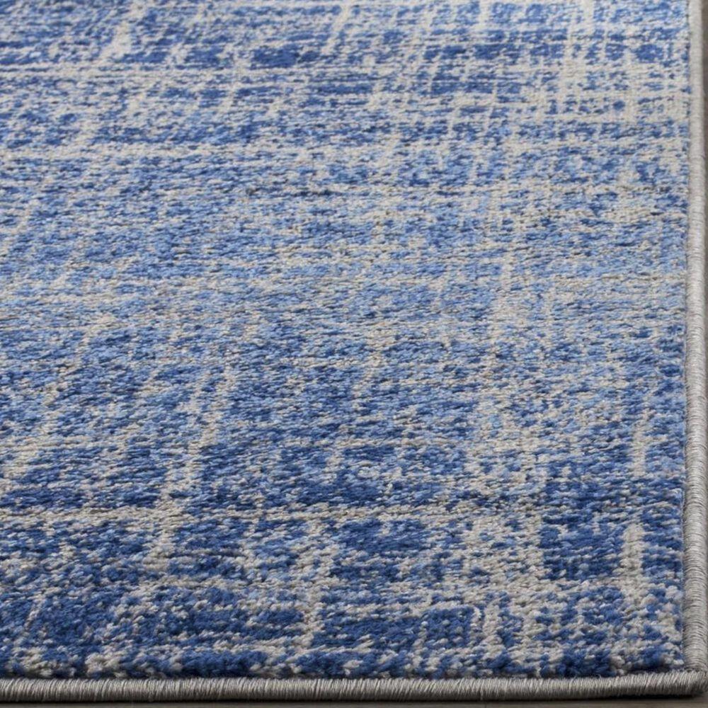 Safavieh Adirondack ADR116D 4' x 6' Blue and Silver Area Rug, , large