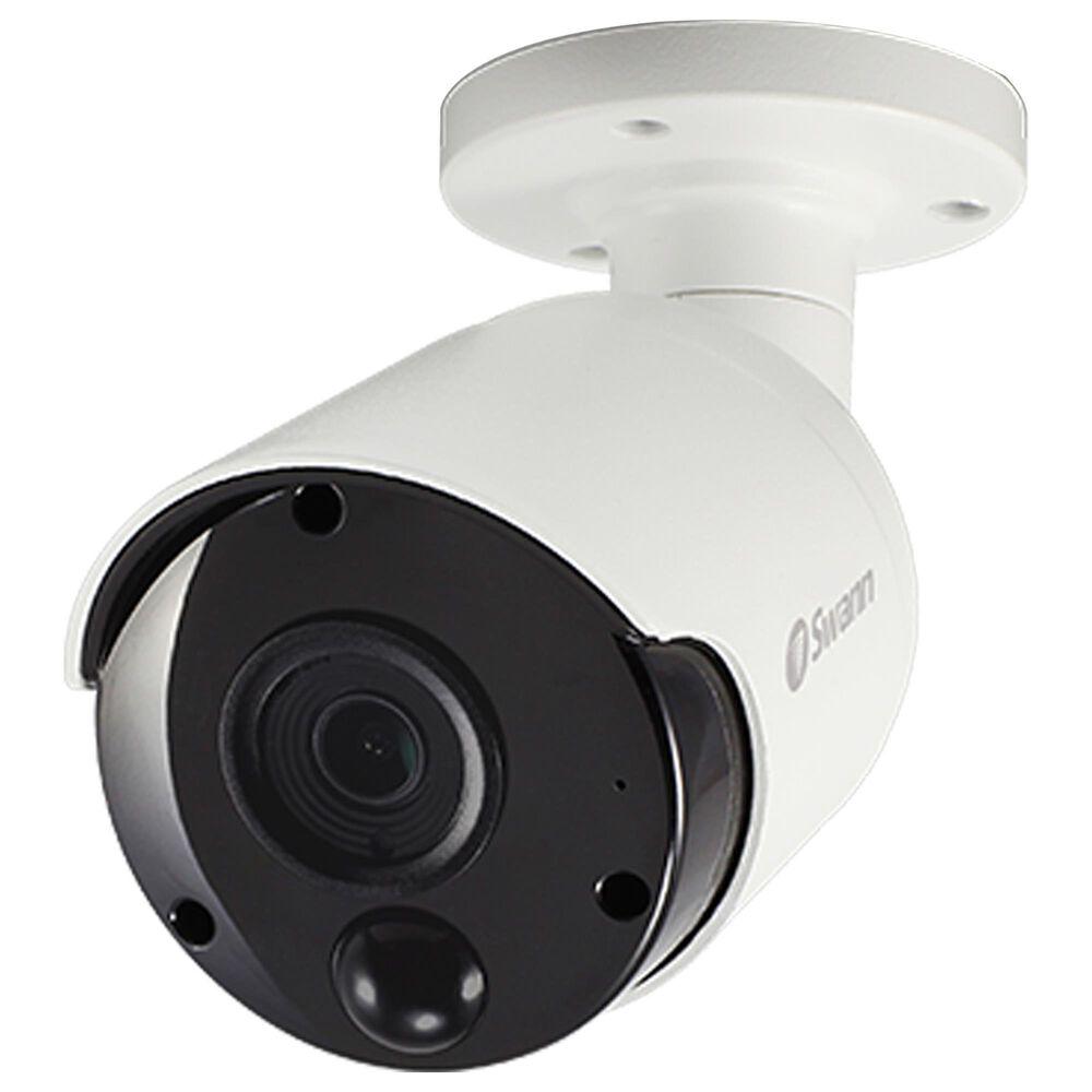 Swann 4K Ultra HD Thermal Sensing Bullet IP Security Camera in White, , large