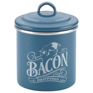 "Ayesha Curry 4"" x 4"" Bacon Grease Drip Can in Twilight Teal, , large"