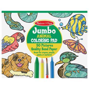 Melissa & Doug Jumbo Coloring Pad - Animals, , large