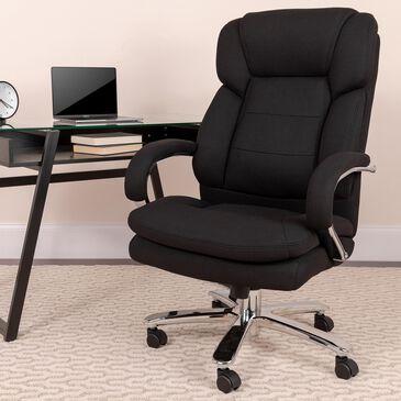 Flash Furniture HERCULES Big & Tall Executive Chair in Black, , large