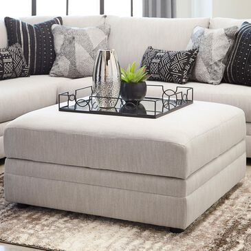 Signature Design by Ashley Neira Ottoman With Storage in Fog, , large