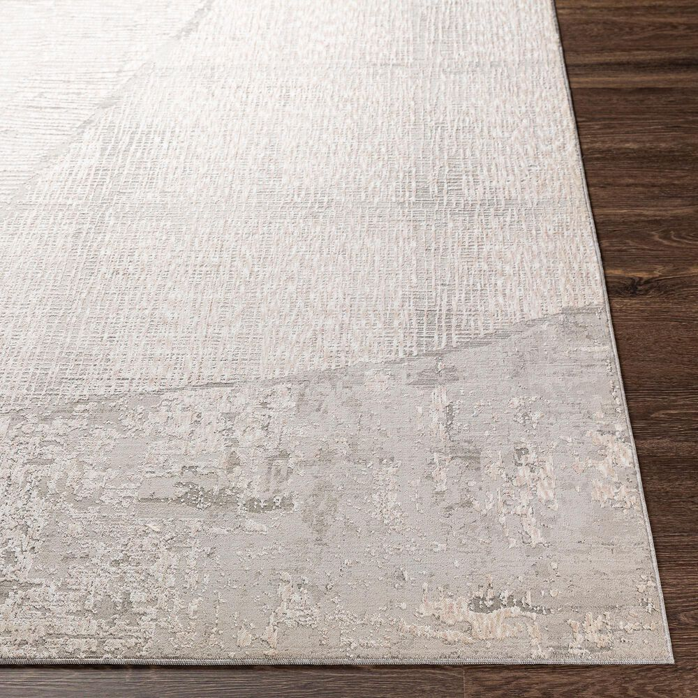 "Surya Carmel 7'10"" x 10' Gray, White, Taupe and Ivory Area Rug, , large"