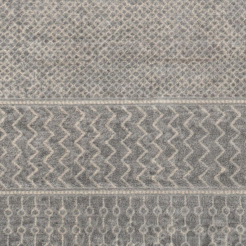 "Surya Monaco MOC-2304 4'3"" x 6' Silver, Gray and Cream Area Rug, , large"