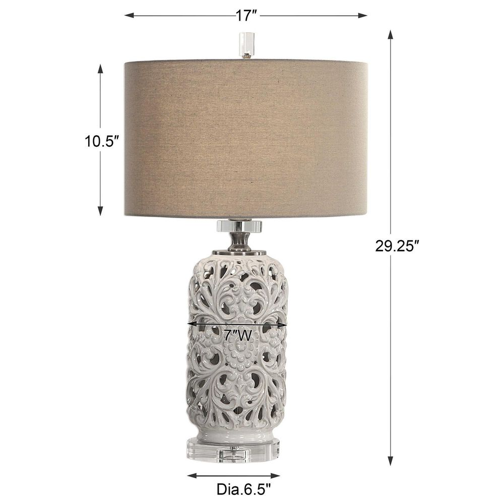 Uttermost Dahlina Table Lamp, , large