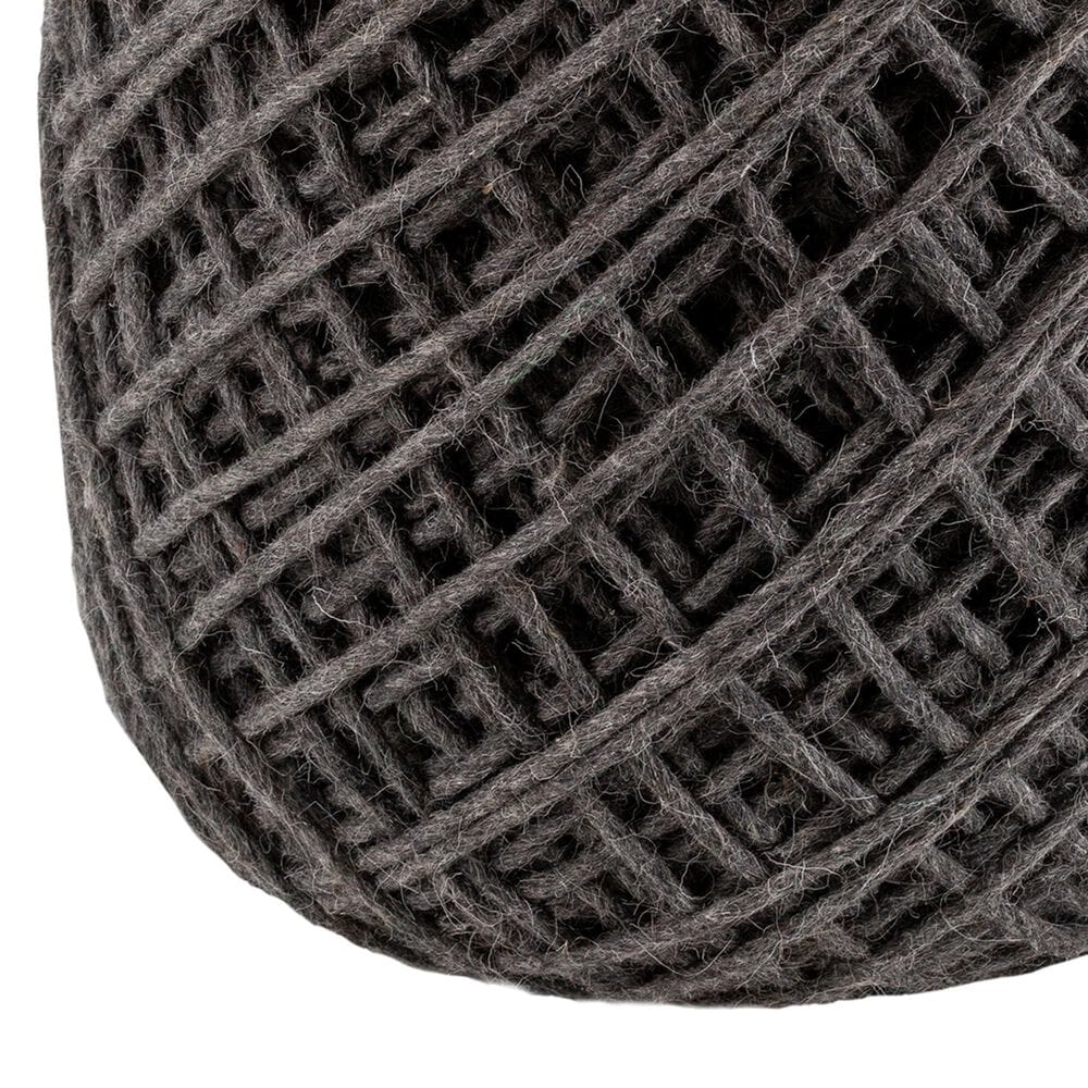 Surya Inc Xena Pouf in Charcoal, , large