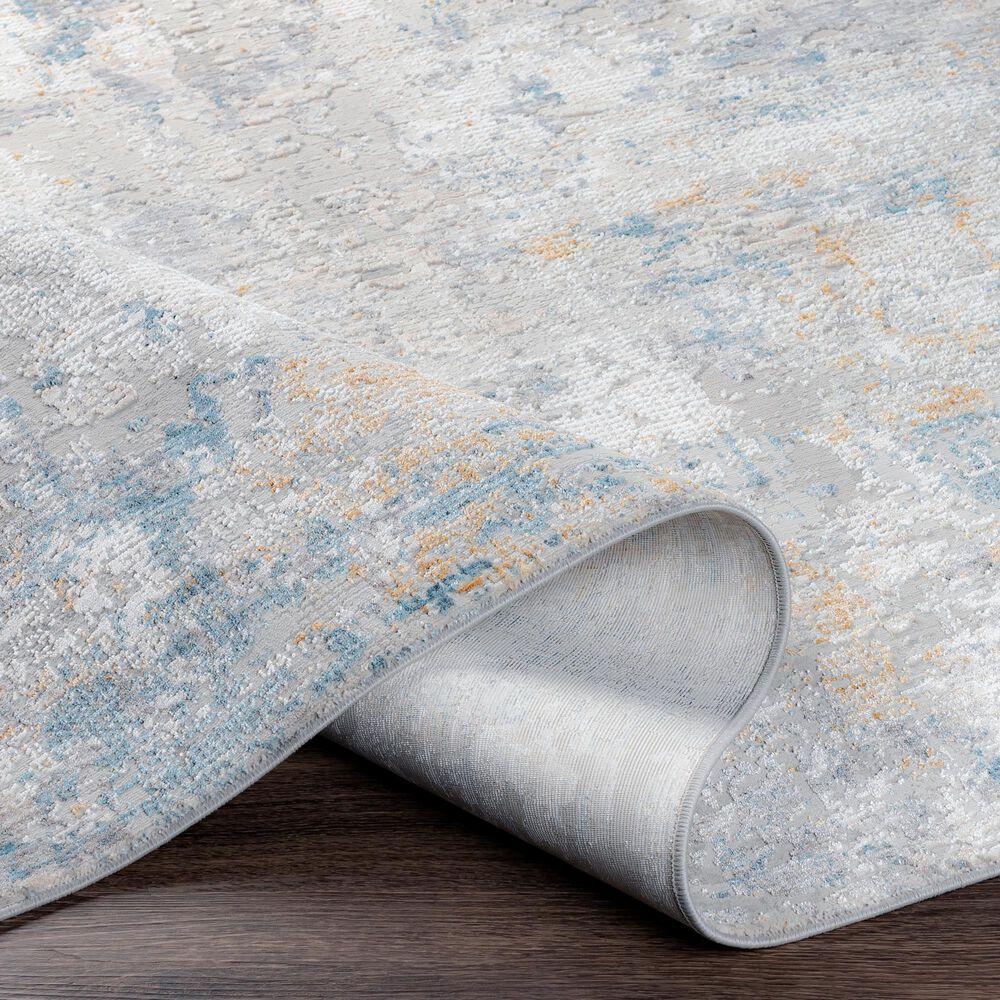 Surya Carmel 2' x 3' Medium Gray and Taupe Area Rug, , large