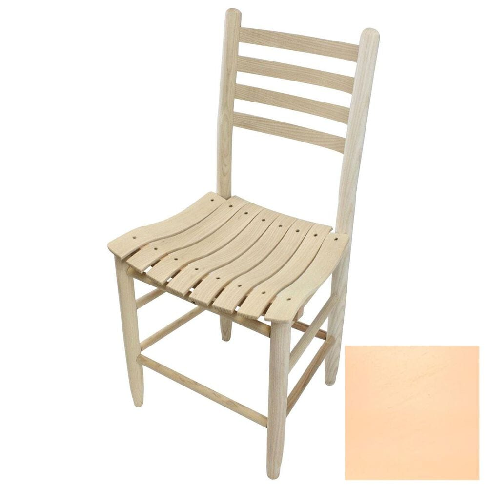 Lakeside Asheville Ladderback Dining Chair in Coastal Peach, , large