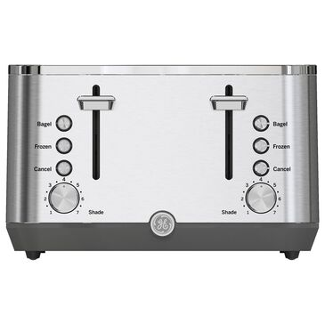 GE 4-Slice Toaster in Stainless Steel, , large