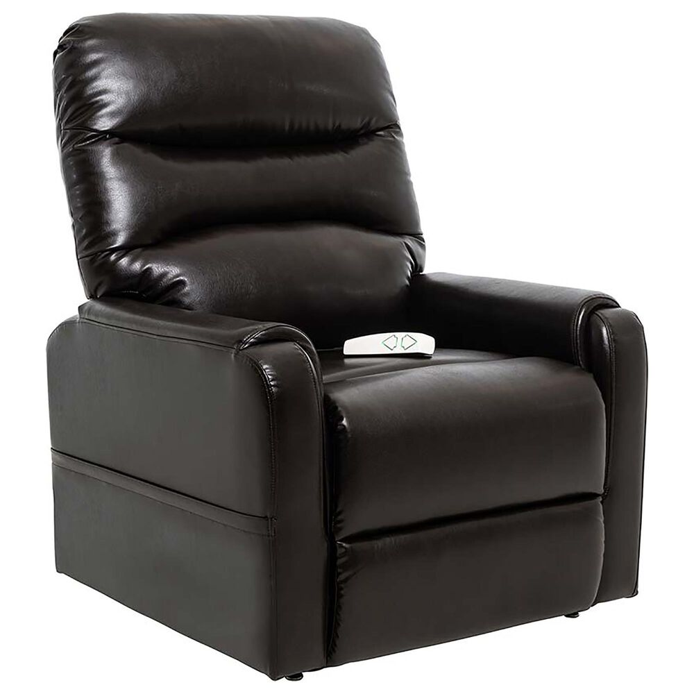 Mega Motion 3 Position Lift Chair in Chestnut Brown, , large