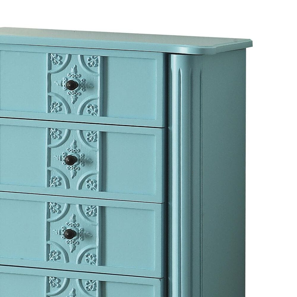 Gunnison Co. Tammy Jewelry Armoire in Light Blue, , large