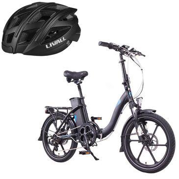 Magnum Premium II Low Step E-bike with (Free) Smart Bluetooth Bicycle Helmet in Black, , large