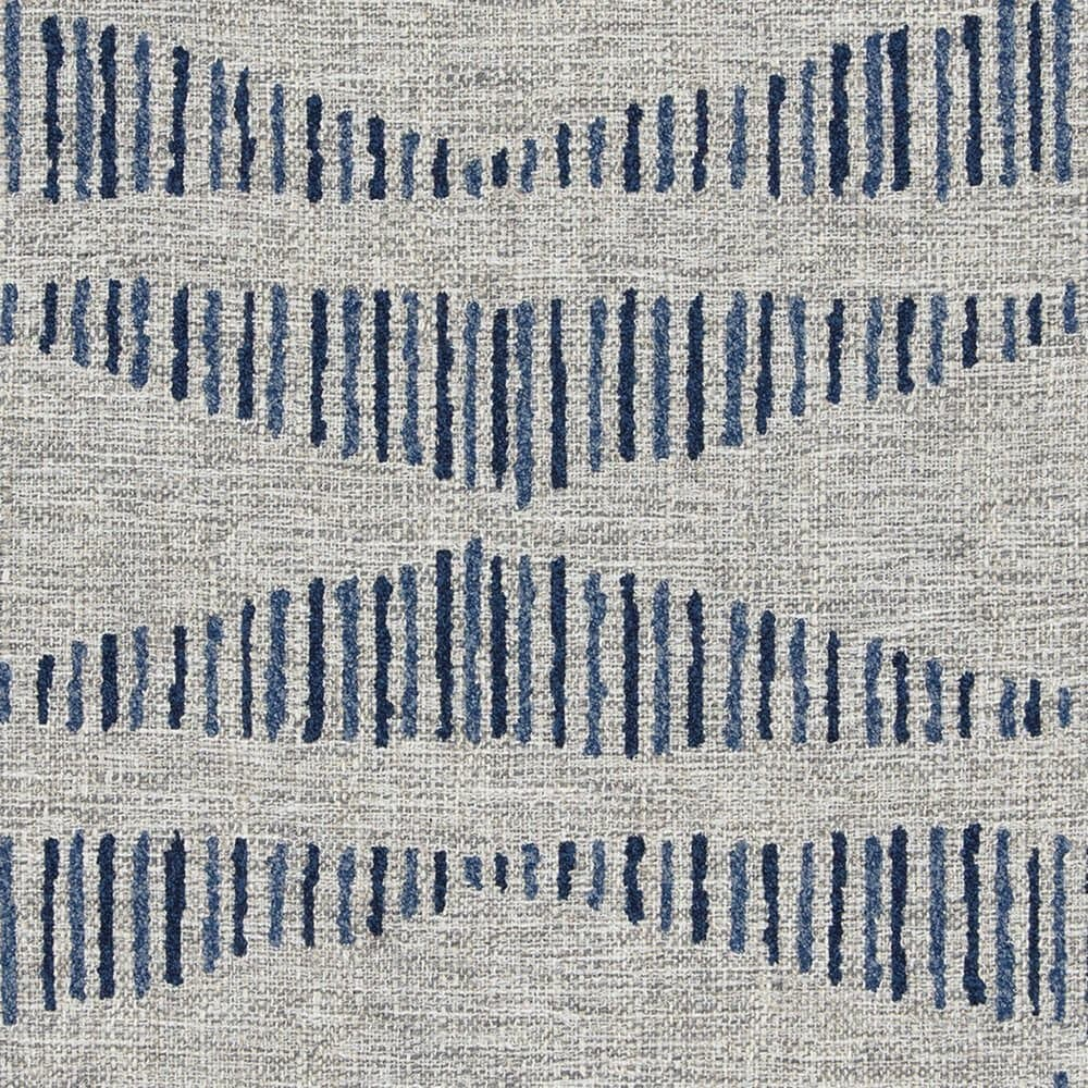 La-Z-Boy Scarlett High Leg Recliner in Bluestone Fabric and Coffee Finish, , large