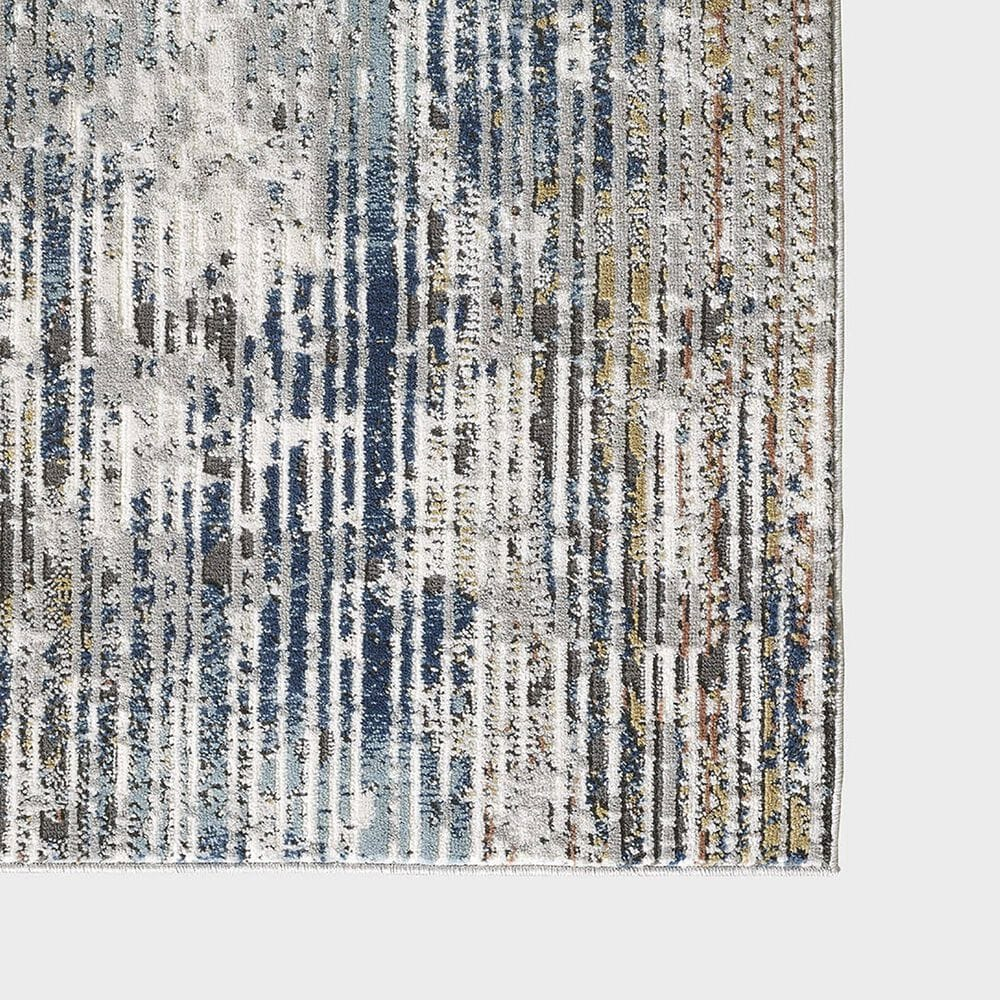 """Central Oriental Orient Darindan 3821.81 5'3"""" x 7'3"""" Ivory and Grey Area Rug, , large"""