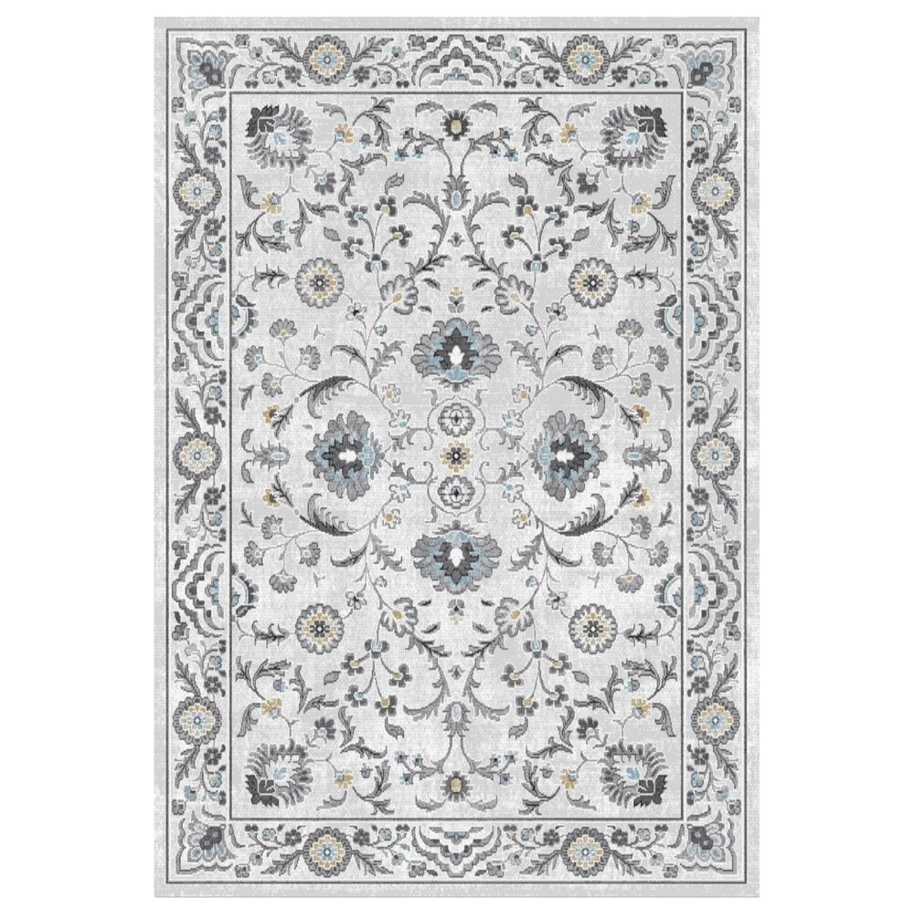 "Central Oriental Sientan Wynteri 2520.259 2'2"" x 3' Cream and Light Grey Area Rug, , large"
