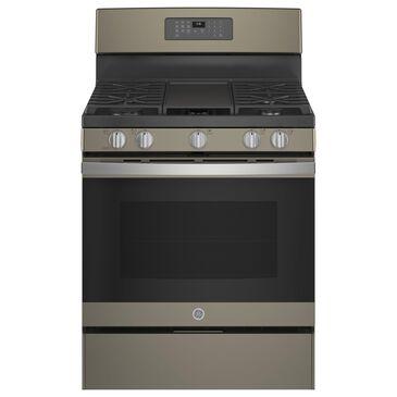 "GE Appliances 30"" Freestanding Gas Range in Slate, , large"